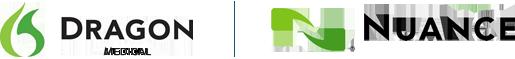Logotipos de Dragon Medical y Nuance